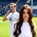 Cheryl Tweedy and Nicola Roberts – GAME4GRENFELL charity football match – London