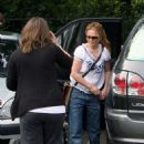 Geri Halliwell - Leaves London Zoo With Her Daughter And Some Friends, 24.06.2008.