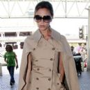 Victoria Beckham: at LAX Airport