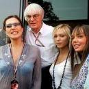 Bernie Ecclestone and Slavica Ecclestone - 278 x 184