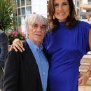 Bernie Ecclestone and Slavica Ecclestone - 233 x 532