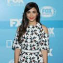 Actress Hannah Simone attends the 2015 FOX programming presentation at Wollman Rink in Central Park on May 11, 2015 in New York City - 400 x 600
