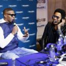 Jamie Foxx attend SiriusXM at Super Bowl XLIX Radio Row at the Phoenix Convention Center on January 30, 2015 in Phoenix, Arizona