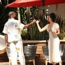 Draya Michele – With her boyfriend Tyrod Taylor at the Four Seasons in West Hollywood - 454 x 568