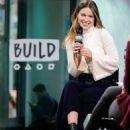 Melissa Benoist- Build Series in New York City, January 2017 - 454 x 681