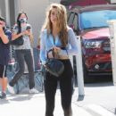 Chrishell Stause – DWTS studio candids in Los Angeles