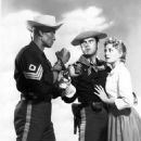 "Woody Strode, Jeffrey Hunter, Constance Towers in ""Sergeant Rutledge"" (1960)"