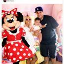 Blac Chyna, Rob Kardashian, and Dream Celebrate Father's Day in Disneyland in Anaheim, California - June 18, 2017