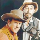 James with Ken Curtis (Festus) - 400 x 490