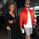 Leona Lewis – Arriving at LAX Airport in Los Angeles - 454 x 636