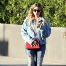 Ashley Benson Leaving a salon in West Hollywood