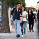 Victoria Justice Walks With Her Boyfriend Reeve Carney in LA 08/30/2017 - 454 x 334