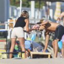 Sofia Richie – Pictured at the beach in Malibu – California