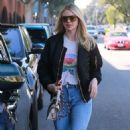 Kate Upton – Leaving a hair salon in Beverly Hills