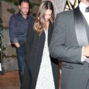 Jessica Alba – Night out at Avra restaurant in Beverly Hills