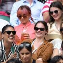 Maisie Williams and Diana Silvers – Wimbledon Tennis Championships 2019 in London - 454 x 342