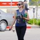 Reese Witherspoon is spotted at a dance class in Brentwood, California on June 4, 2016