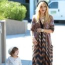 Rachel Zoe: out for a walk in Los Angeles