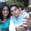Jake T. Austin and Bianca A. Santos - 454 x 564