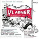 Lili Abner 1956 Broadway LP Vinyl Record