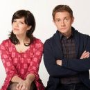 Martin Freeman and Mandy Moore