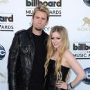 Avril and Chad at the Billboard Music Awards (May 19, 2013)