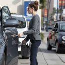 Ashley Greene Getting Gas In La
