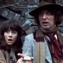 Tom Baker as Fourth Doctor and Elisabeth Sladen as Sarah Jane Smith in Doctor Who (1974-1981)