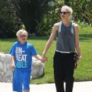 Gwen Stefani Out and About In Pasadena