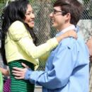 Naya Rivera and Kevin McHale