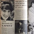 Bernadette Lafont - Festival Magazine Pictorial [France] (25 October 1960)