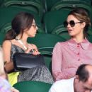 Kara Tointon and Louisa Lytton – Wimbledon Tennis Championships 2019 in London - 454 x 329