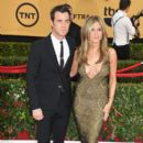 Jennifer Aniston attends the 21st Annual Screen Actors Guild Awards at The Shrine Auditorium on January 25, 2015 in Los Angeles, California