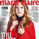 Melissa Benoist - Marie Claire Magazine Cover [Indonesia] (October 2017)