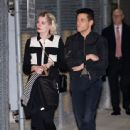Rami Malek and Lucy Boynton are seen at 'Jimmy Kimmel Live' in Los Angeles, California - 443 x 600