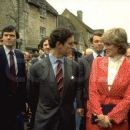 Prince Charles and Lady Diana Spencer visiting the town of Tetbury in Gloucestershire - 22 May 1981