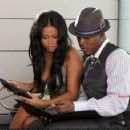 Lauren London - On The Set Of Miss Independent 2008