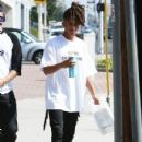Jaden Smith is spotted shopping on Melrose in Los Angeles, California with a friend on October 14, 2016 - 432 x 600