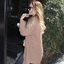 Lauren Conrad spotted out and about in New York City April 4, 2012