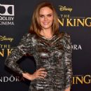 Emily Deschanel – 'The Lion King' Premiere in Hollywood - 454 x 682