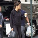 Adriana Lima – Seen Outside her hotel in New York City