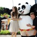 Angelina Jolie - Kung Fu Panda 2 Photocall - Cannes Film Festival (May 12, 2011) - 454 x 300