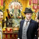 Barney Cheng as Bo, Danny Masterson as Fitz and Michael Cecchi as Dino in Capers. - 389 x 255