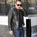 Martin Kemp Arrives at His London Hotel - 355 x 594