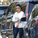 Mila Kunis – Leaving a friends house in Los Angeles