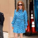 Julianne Moore – Arrives at Kelly And Ryan show in New York City - 454 x 666