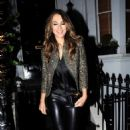 Elizabeth Hurley – Arrives at Annabel's in Mayfair - 454 x 740