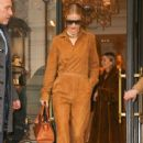 Rosie Huntington Whiteley – Arrives to the Greenwich Hotel in NY