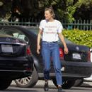 Jaime King – Seen in a grocery market parking lot in Los Angeles - 454 x 303