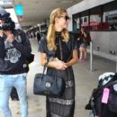 Paris Hilton is seen at LAX